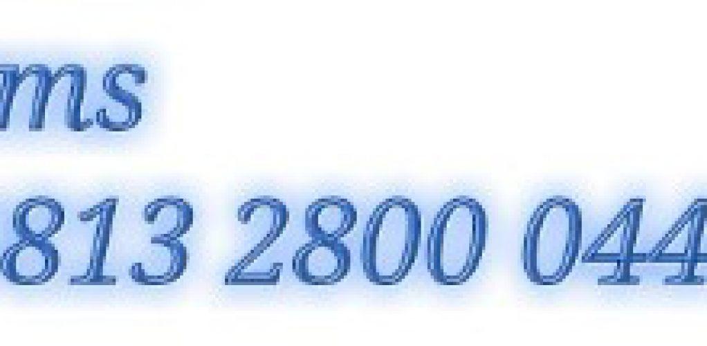 SMS NO 0813 2800 0444