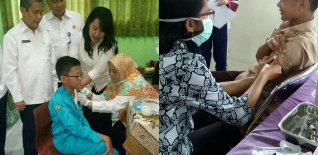Monitoring Pelaksanaan Imunisasi MR (Measles Rubella)