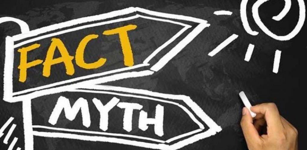 6 Mitos Kesehatan Paling Terkenal