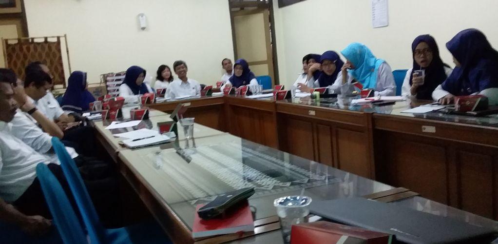 Pertemuan Pengelolaan Laporan Keuangan Dekonsentrasi Dinas Kesehatan DIY