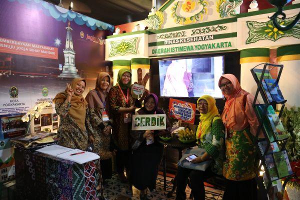 Keikutsertaan Dinas Kesehatan DIY dalam Pameran Kesehatan pada Konferensi Nasional ke VII tahun 2017 di Jakarta
